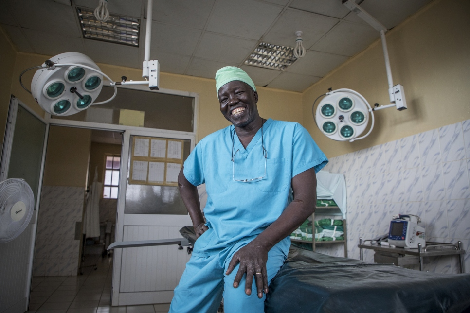 Dr. Evan Atar was awarded the 2018 UNHCR Nansen Refugee Award for his  outstanding commitment and self-sacrifice in providing medical services to over 200,000 people, including approximately 144,000 refugees from Sudan's Blue Nile state.