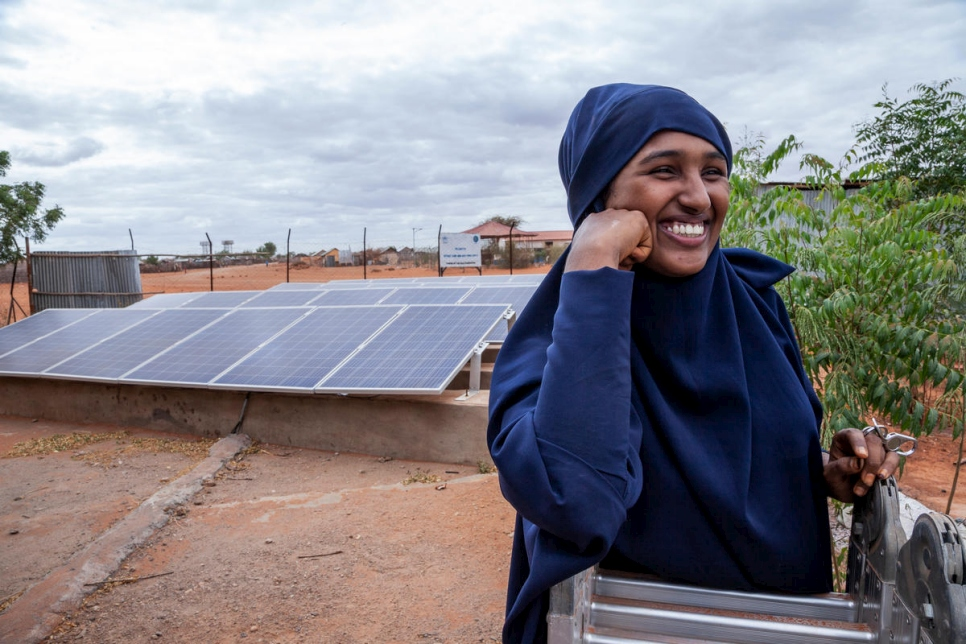 Ethiopia. Sabriina thinks solar is the future