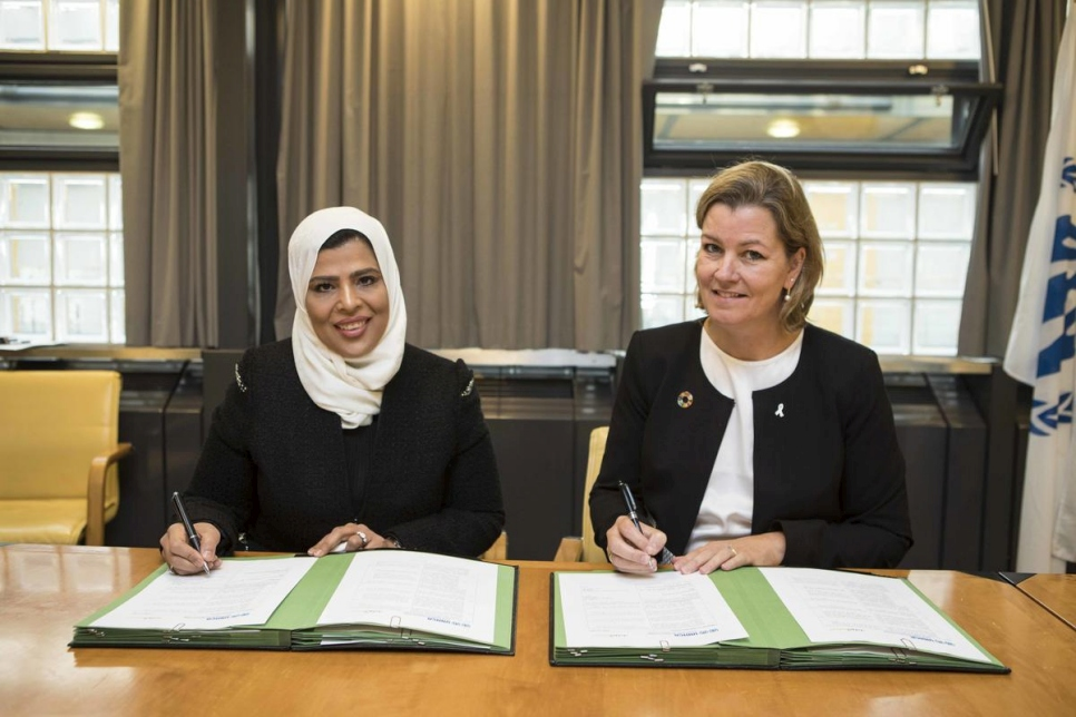 Switzerland. UNHCR's DHC signs an agreement with Silatech