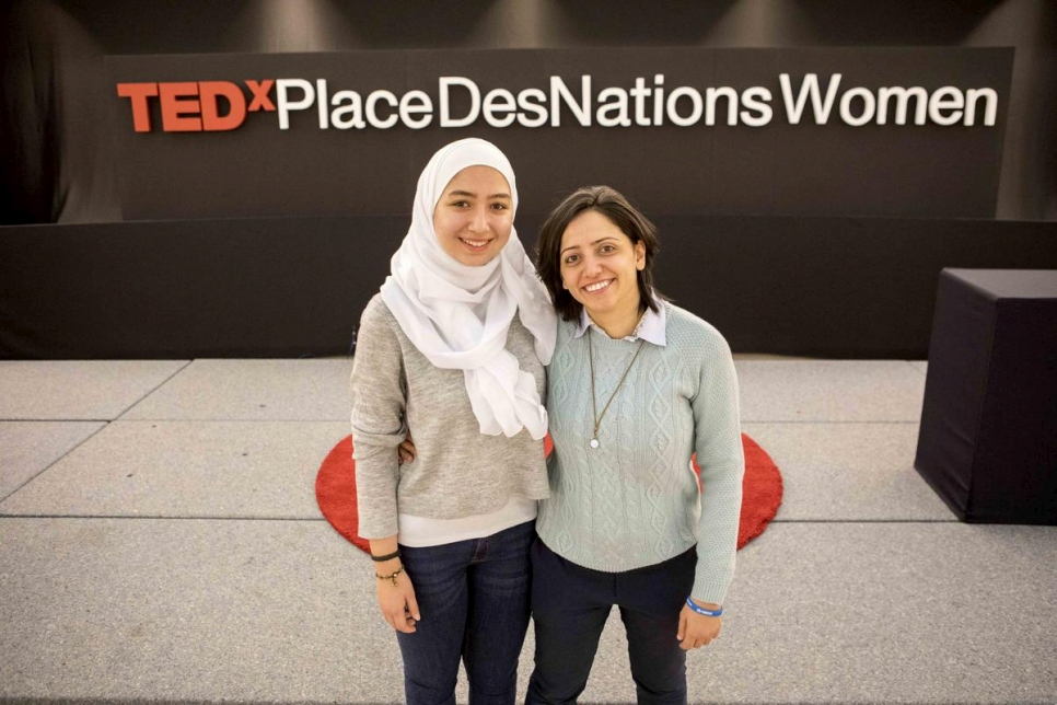 Switzerland. Tedx Women - Place des Nations