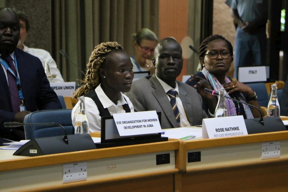 Nairobi. Kenya. South Sudan Regional Refugee Response Plan Launch