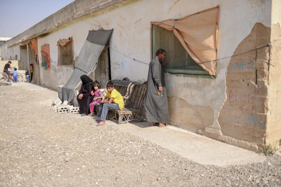 Jordan. Syrian family among millions relying on aid to survive winter