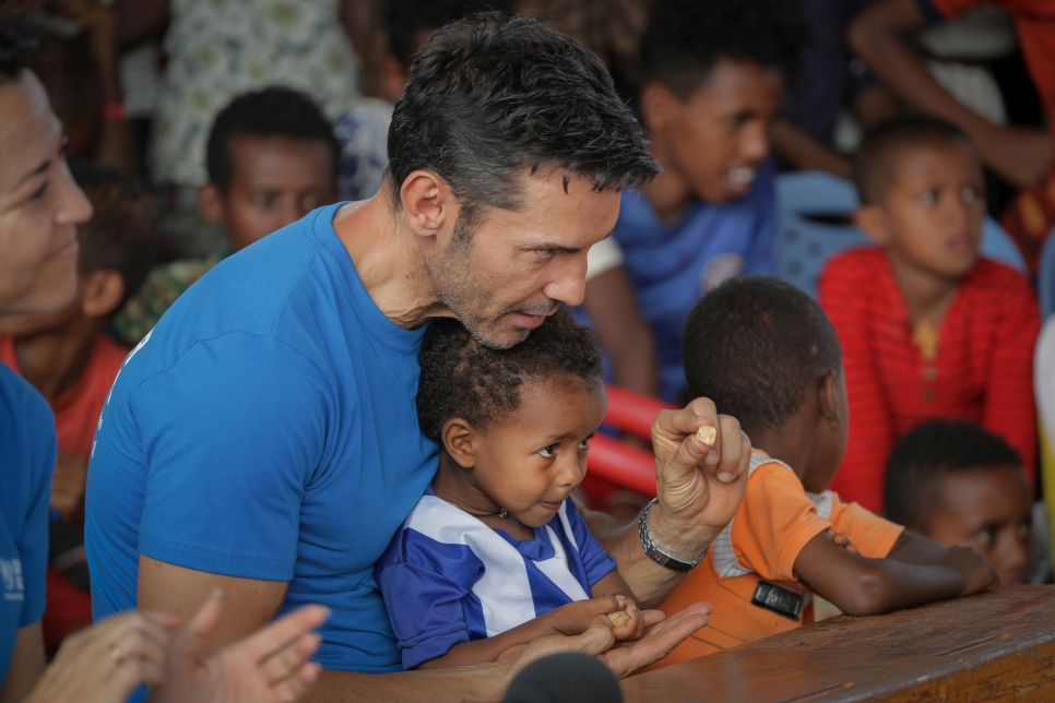Jesús' visit to Ethiopia had a special focus on non-accompanied minors. Upon returning to Spain, he helped to launch a fundraising campaign in their benefit.
