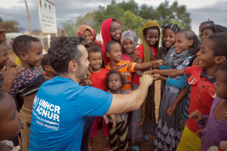 Jesús has served as Goodwill Ambassador with UNHCR for more than ten years.