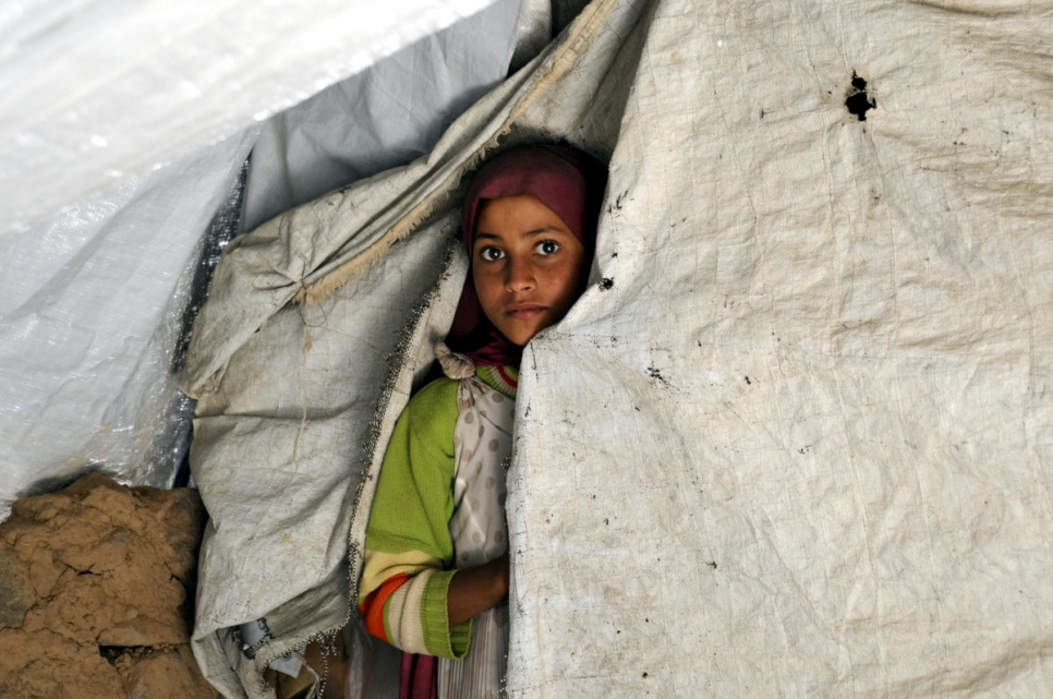 Yemen. Life for displaced families in a country gripped by war