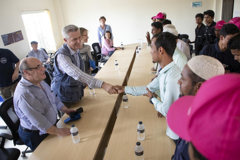 Bangladesh. UN humanitarian leaders highlight urgent need to sustain support for Rohingya refugees