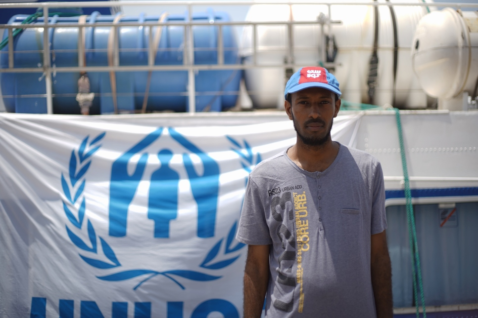 UNHCR - Hurting in Yemen, Somali refugees head home in time