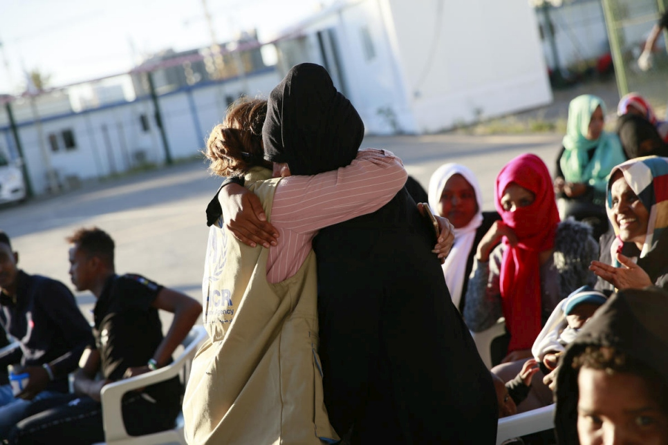 Tripoli. UNHCR secures release of 96 detainees from Libya's Zintan detention centre