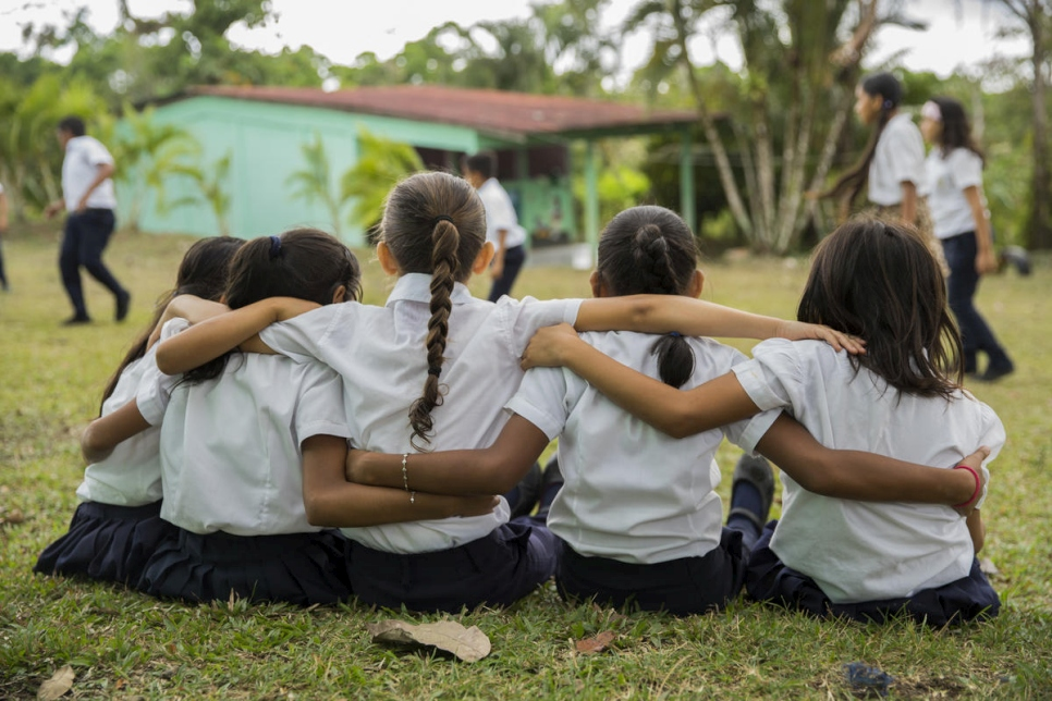 Costa Rica. Costa Rican schools open their doors to displaced Nicaraguan children