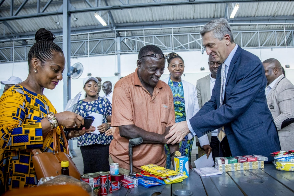 Democratic Republic of the Congo. UNHCR chief meets urban refugees in Kinshasa