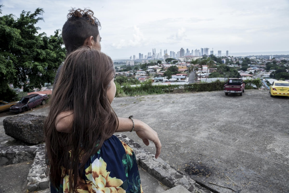 Panama. With love from Central America – Salvadoran teenager rebuilds her life