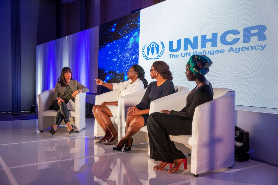 South Africa. Women to Women brunch by the Women's Business Network for UNHCR