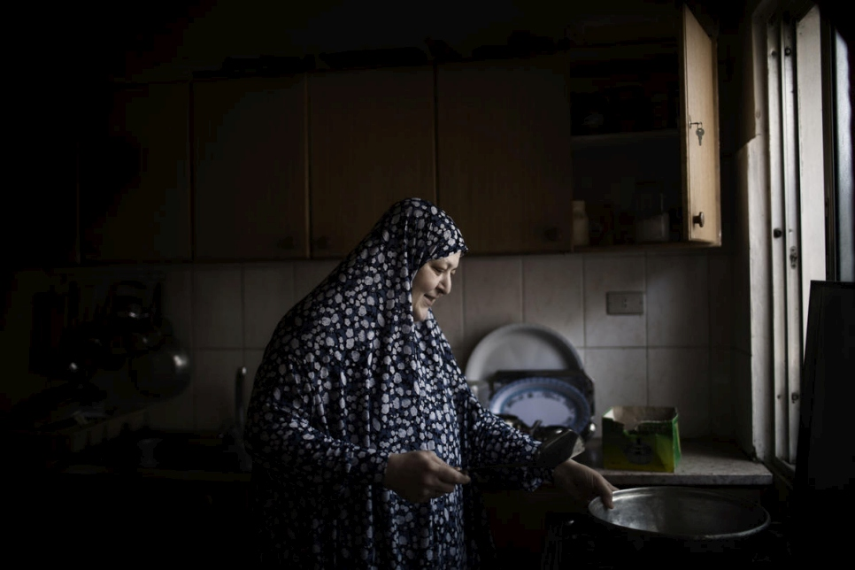 Jordan. 'Mother of Syrians' nominated for UNHCR's Nansen Award