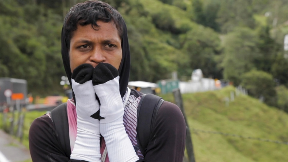 "Venezuela's ""walkers"" make perilous journey in search of safety"