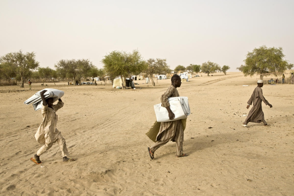 Niger. Nigerian refugees safe after fleeing Boko Haram