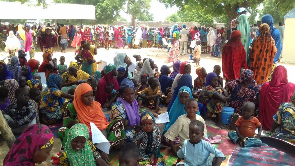 Niger. More than 40,000 people, mainly women and children, have crossed the border into Niger, fleeing  extreme violence in the Nigerian northern states