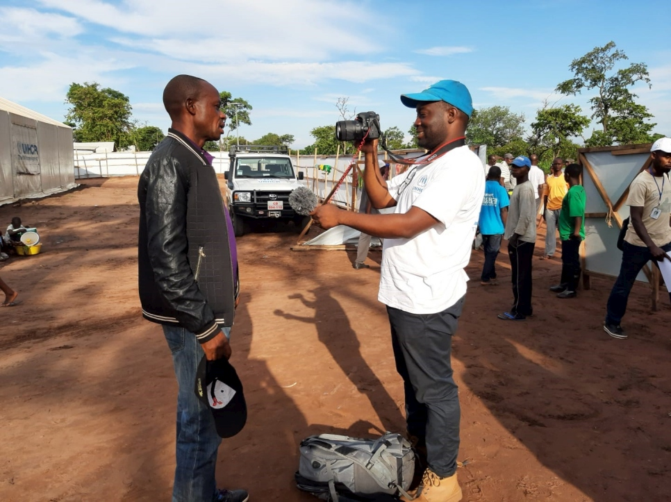 Omotola Akindipe, serving as a UN Volunteer Associate Reporting Officer for the UN Refugee Agency (UNHCR) in Angola, takes time to speak with us about his volunteer assignment.