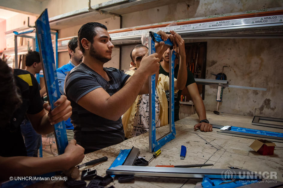 Syria. Livelihoods programme brings hope for future of Aleppo's returnees