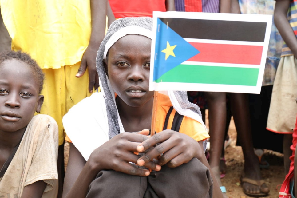 South Sudan. World's youngest nation hosts refugees