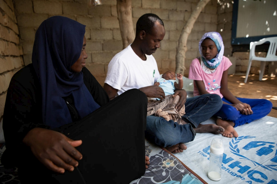 Libya. Emergency food aid lifeline for refugees hit by COVID-19 economic impacts
