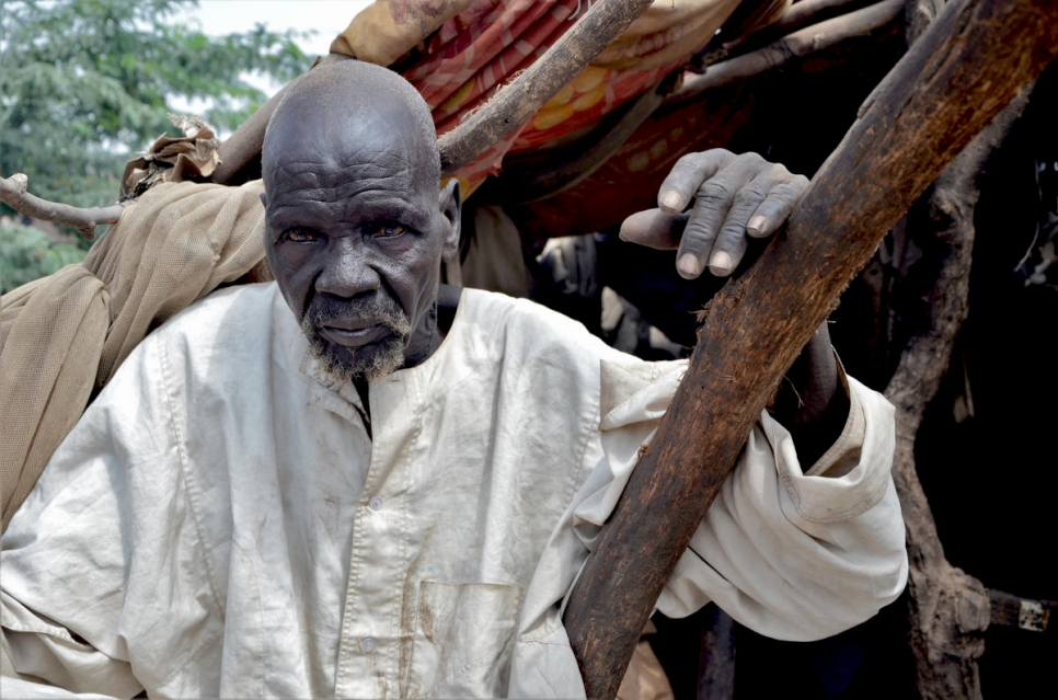 Sudan. South Sudanese refugees and host community receive flood assistance