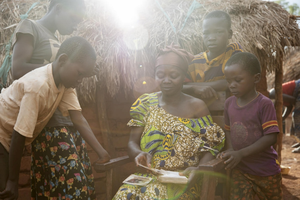 Central African Republic. A family torn apart by conflict