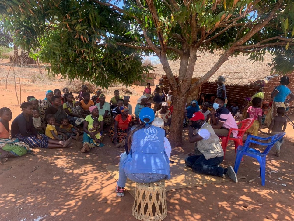 Mozambique. Communities displaced by extremist violence in Cabo Delgado