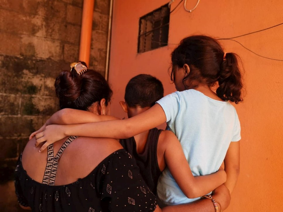 Guatemala. Asylum-seeking family struggling to recover after Storm Eta