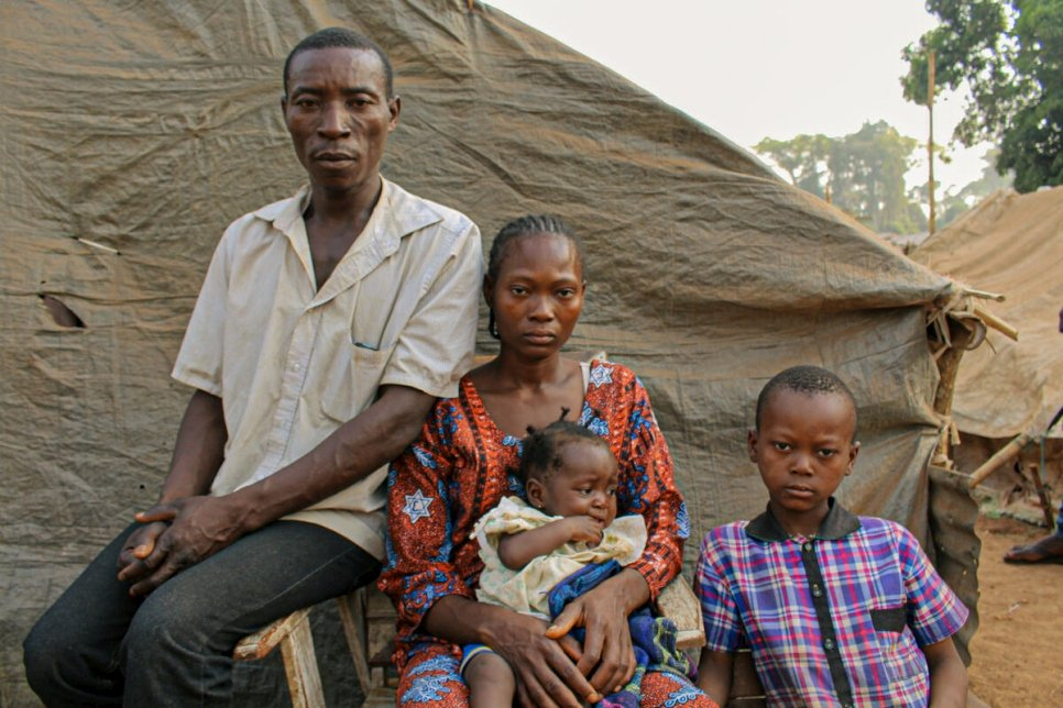 Democratic Republic of Congo. Insecurity in Central African Republic displaces tens of thousands