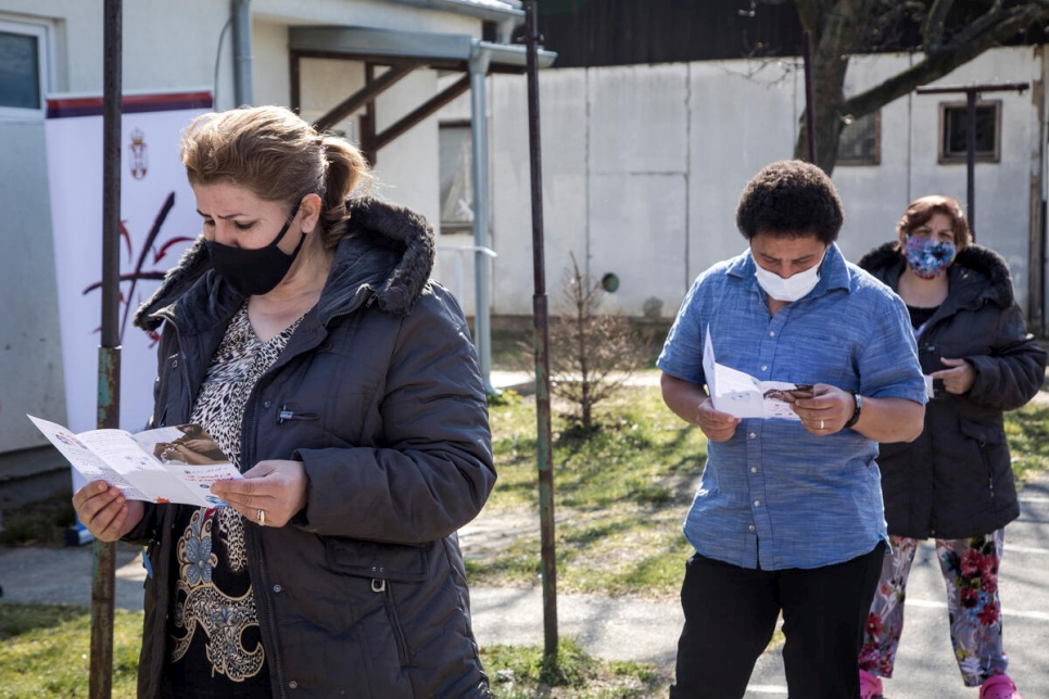Serbia. Launch of a COVID-19 vaccination programme for refugees and migrants