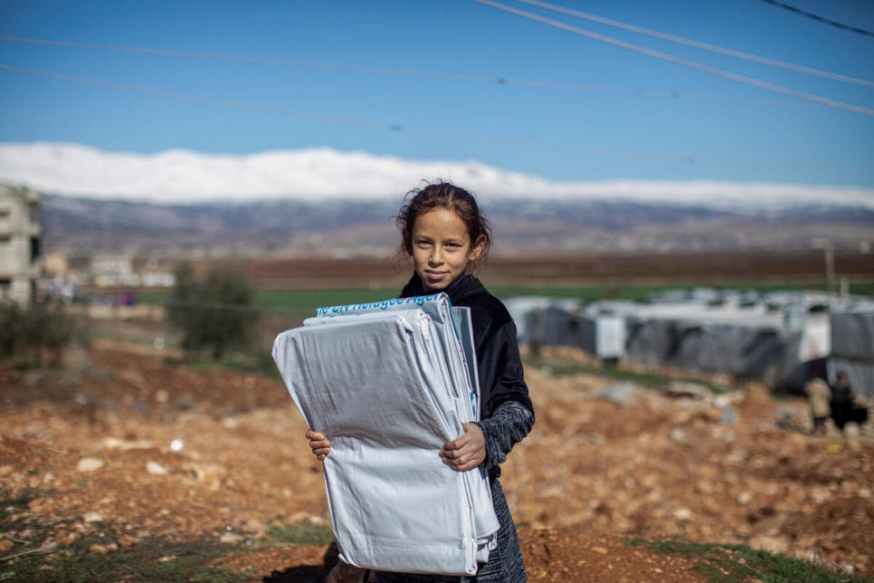 Lebanon. Dire Conditions for Syrian Refugees during winter