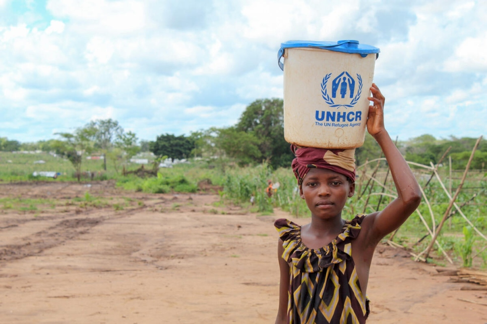 Mozambique. Displaced families in crisis-torn northern provinces