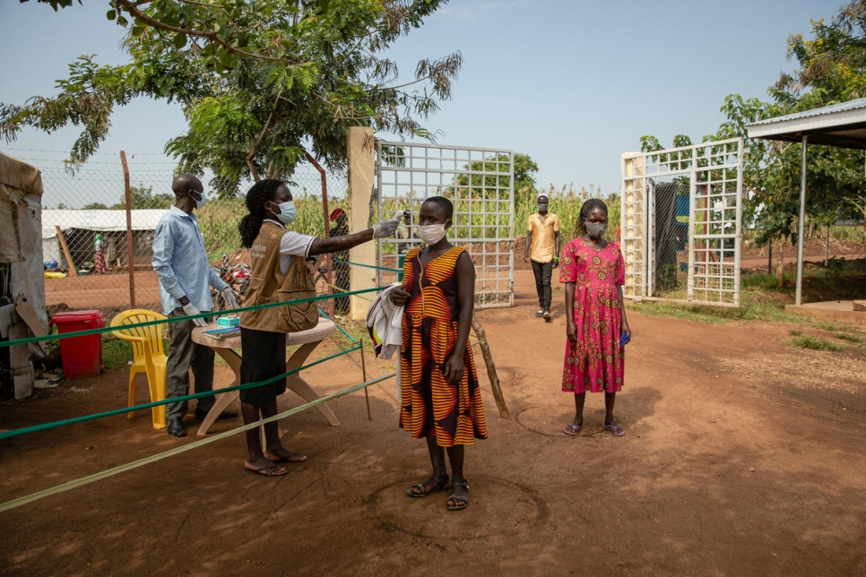 Uganda. European Commission funds maintain refugee services during COVID-19
