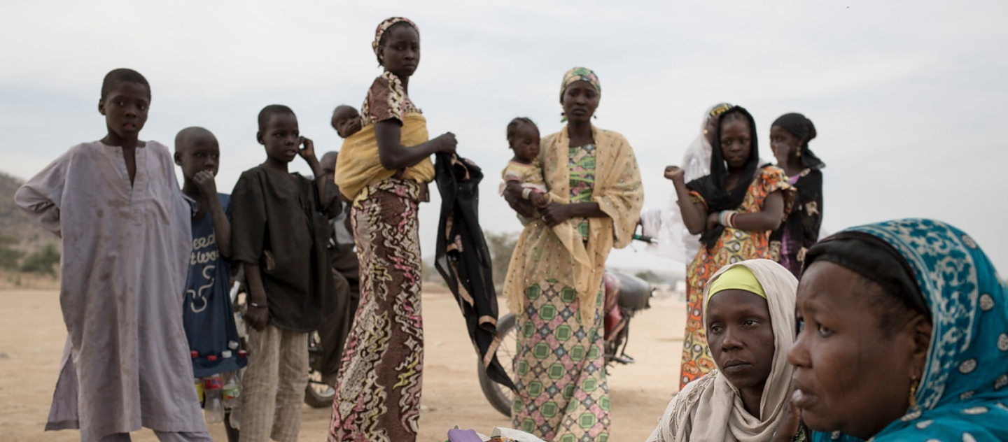 Cameroon. UNHCR chief visits Nigerian refugees fleeing Boko Haram
