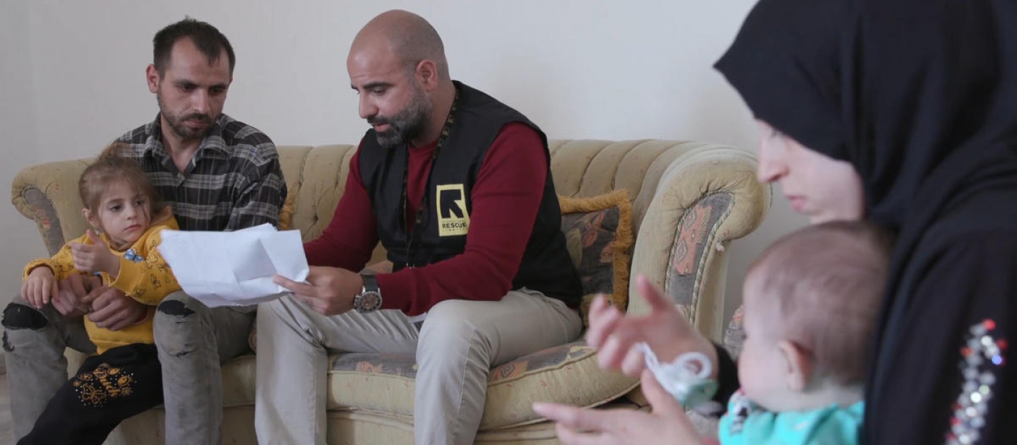 Lebanon. Syrian refugees receive assistance in getting birth certificates for their unregistered children.