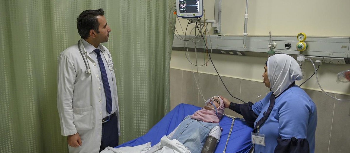Jordan. As medical costs rise, Syrian refugees put health at risk