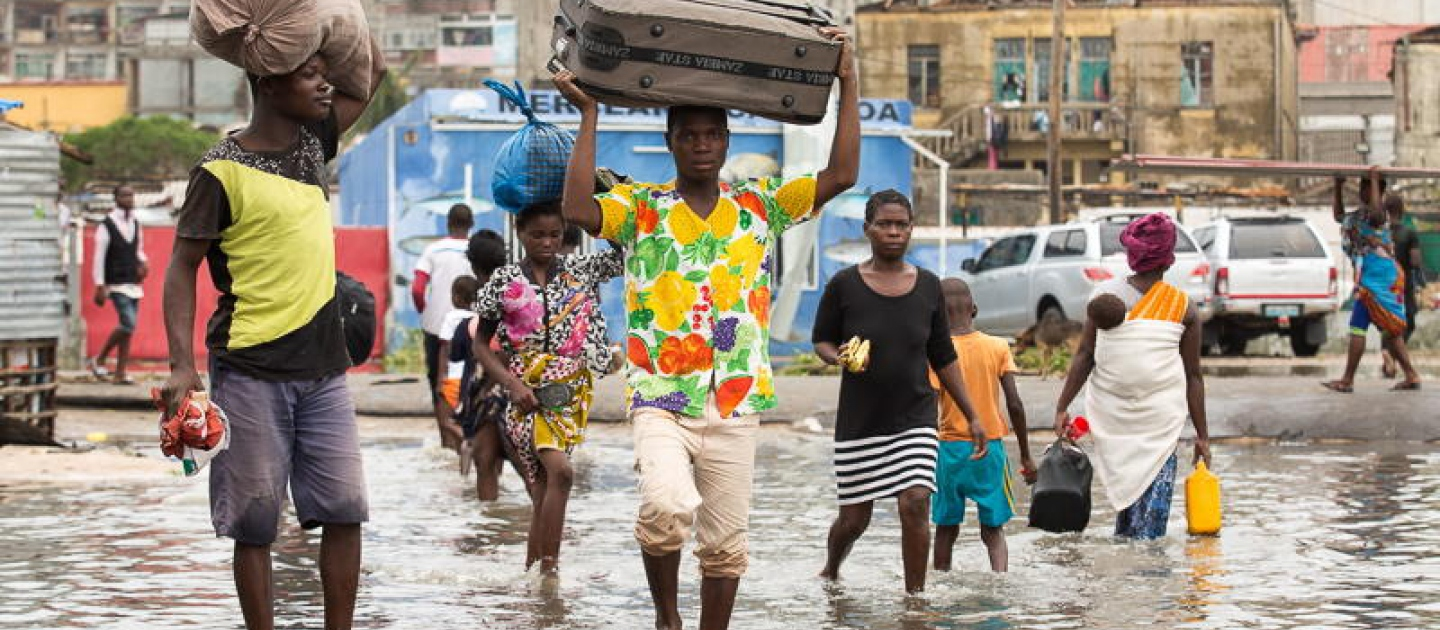 Mozambique. Tropical Cyclone Idai hits Mozambique