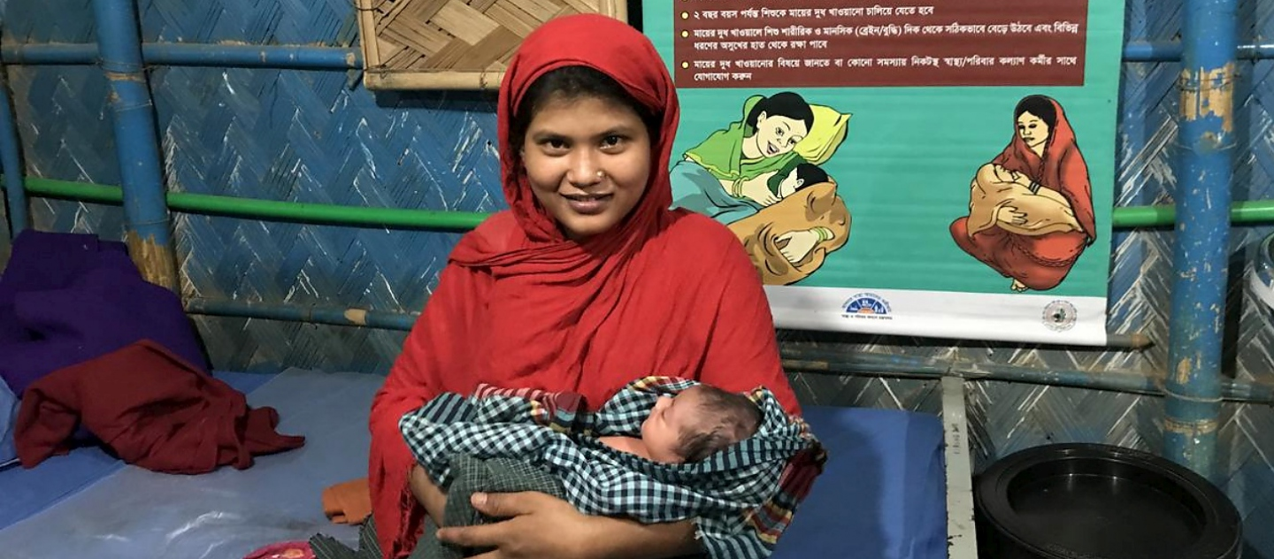 Bangladesh. Round-the-clock healthcare for Rohingya communities