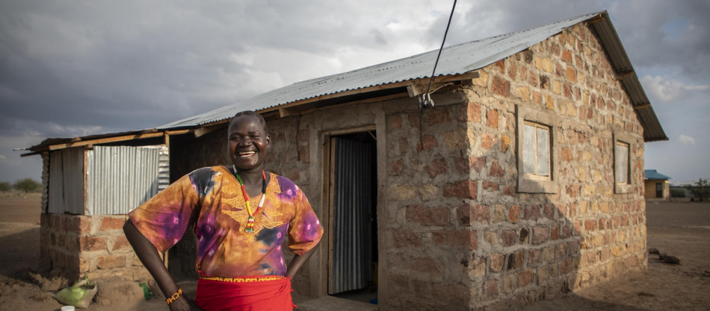 Kenya. Cash for Shelter project highlights shift from traditional camp planning