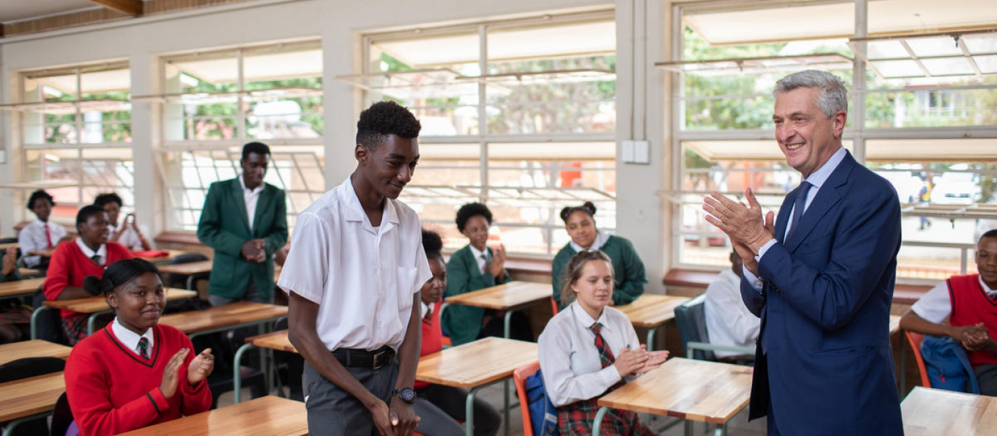 South Africa. Inclusive Education Helps Young Refugees to Thrive