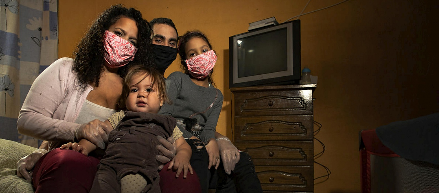 The Díaz family, Venezuelans who have found safety in Chile, are wary of the coming Southern Hemisphere winter.