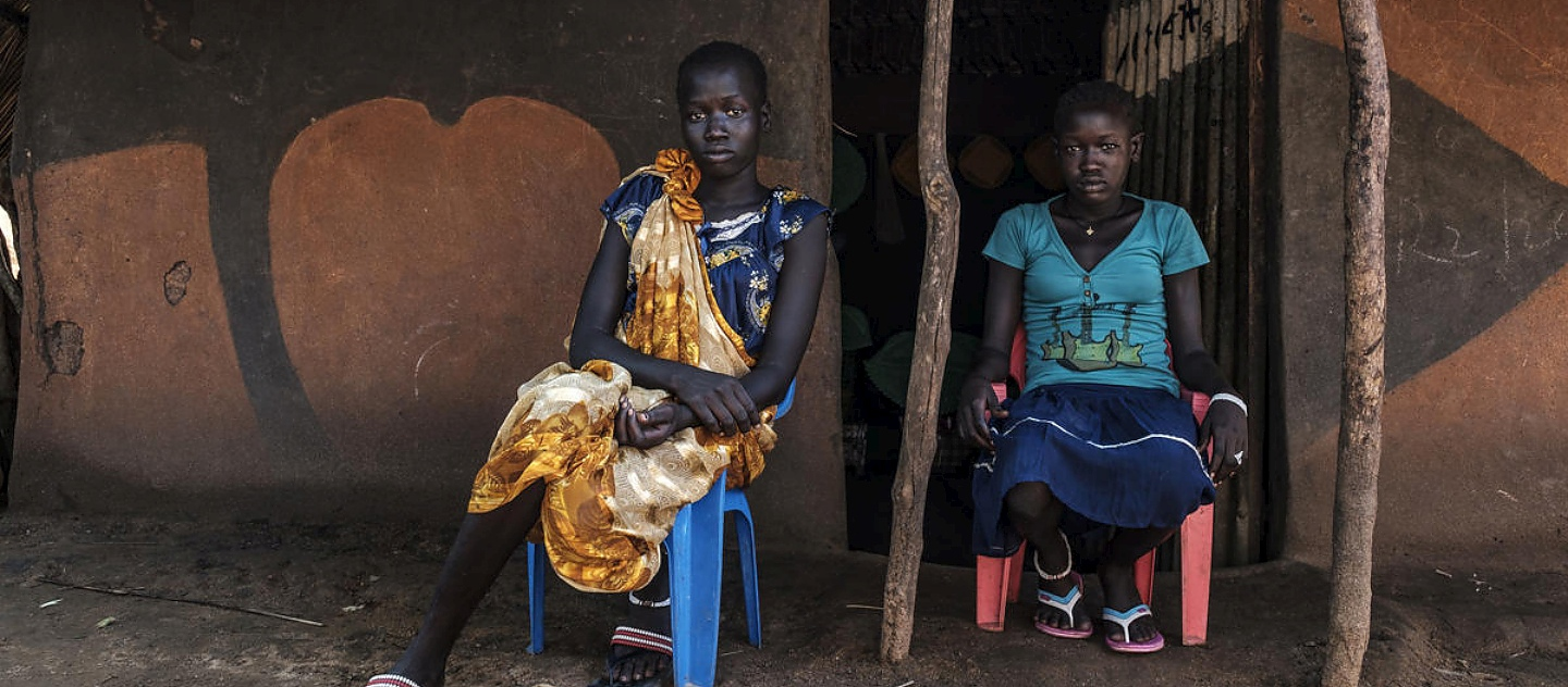 Ethiopia. South Sudanese sisters overcome heartbreak to make a new life