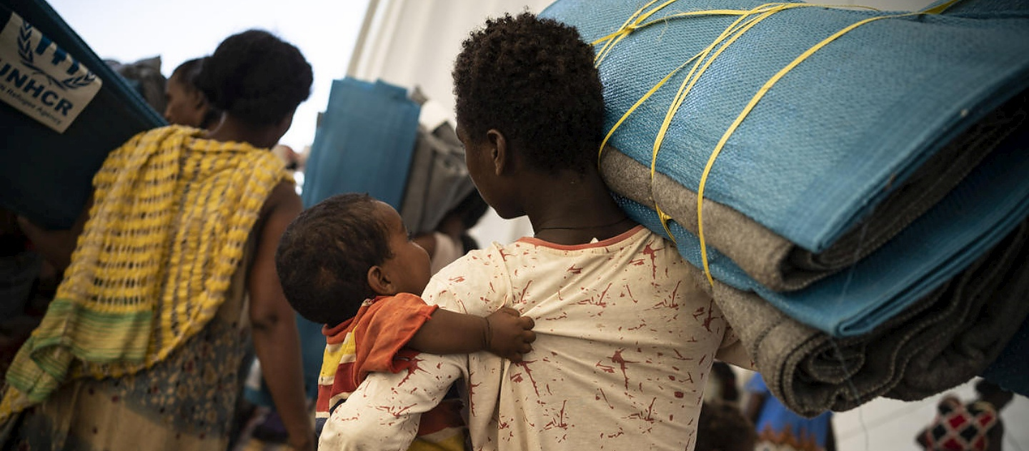 Sudan. Ethiopians fleeing violence in Tigray region receive UNHCR assistance