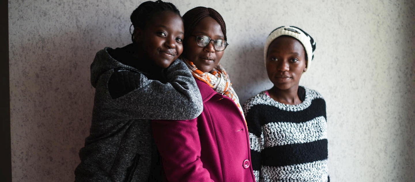France. New beginning for reunited Congolese mother and daughters in Dijon