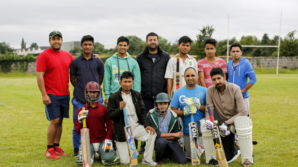 The Carlow Cricket Team now includes members from 13 different nationalities.