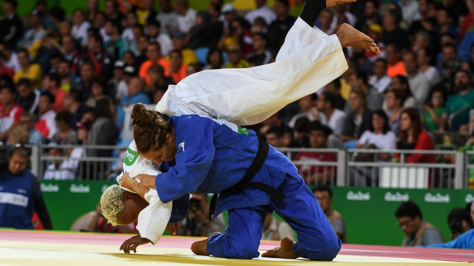 Yolande Mabika lost to tough Israeli Linda Bolder, but left with her head held high.