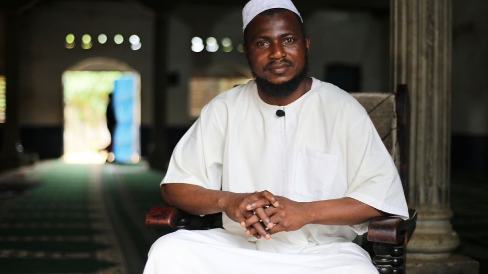 Like his predecessor, Imam Moustapha Mobito is determined to preach forgiveness, reconciliation and peace between Central African communities.