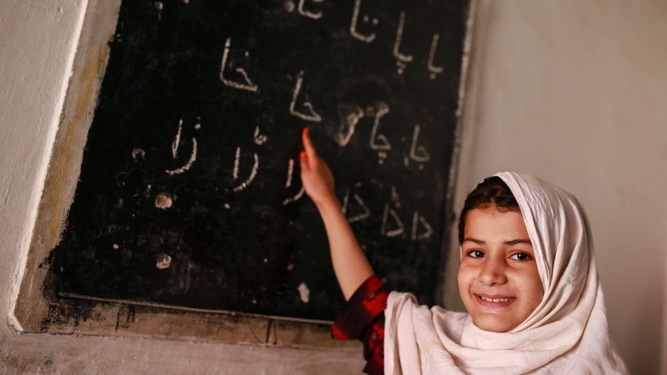 Of the 1.34 million Afghan refugees living in Pakistan, nearly half are children. Access to education is a vital tool in enabling successful repatriation, resettlement or local integration.