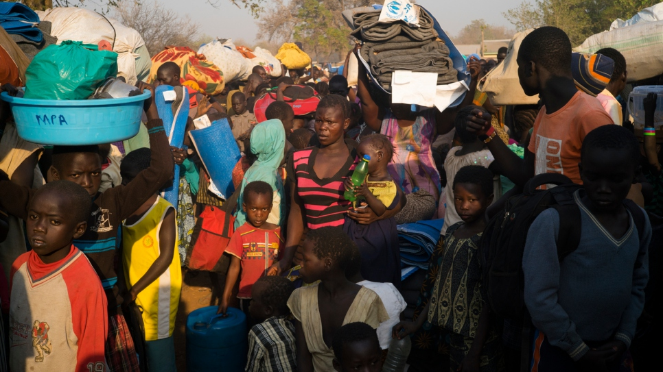 Since January 2017, more than 52,000 refugees have been received in Uganda.