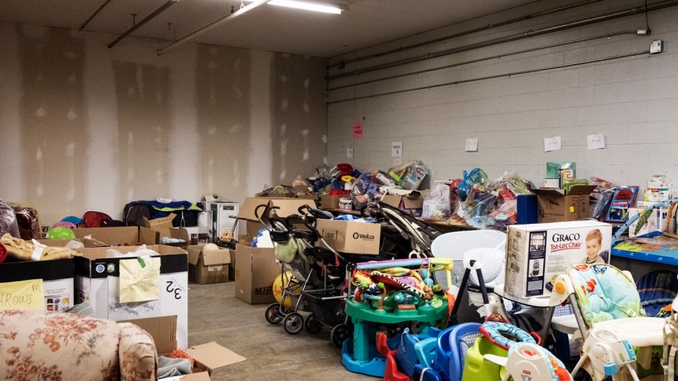 Donations from the local community quickly overwhelmed volunteers helping to resettle Syrian refugees in Guelph.
